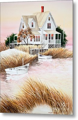 Outer Banks Summer Morning Metal Print by Michelle Wiarda-Constantine