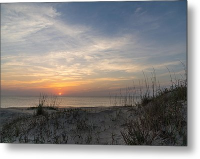 Outer Banks Sunrise Metal Print by Gregg Southard