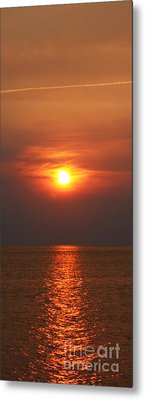 Metal Print featuring the photograph Outer Banks Sunset by Tony Cooper