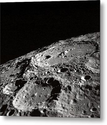 Outer Space Two Four Zero Metal Print by Nasa Usgs