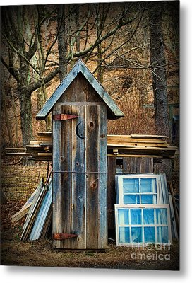 Outhouse - 5 Metal Print