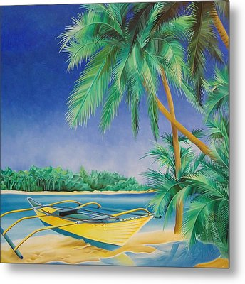 Outrigger Metal Print by William Love