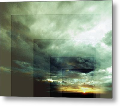 Outside Insight Metal Print
