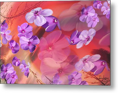 Metal Print featuring the painting Outside Inspirations by Janie Johnson