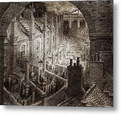 Over London Metal Print