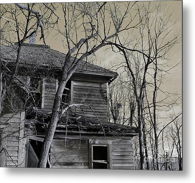 Over Taken Metal Print