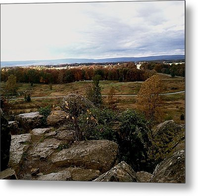 Over The Battle Field Of Gettysburg Metal Print