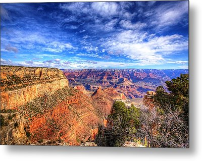 Over The Edge Metal Print