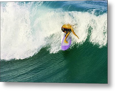 Over The Top Metal Print by Laura Fasulo
