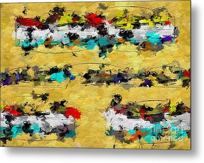 Metal Print featuring the digital art Overcast Opus 2 by Lon Chaffin