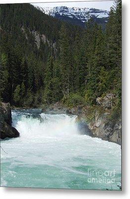 Overlander Falls - Fraser River Metal Print by Phil Banks