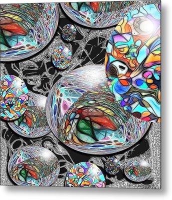 Overlap Series 1 Metal Print