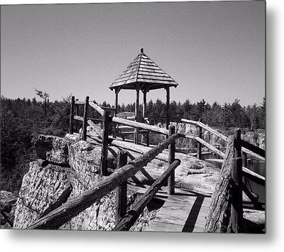 Overlook In The Shawangunks Metal Print