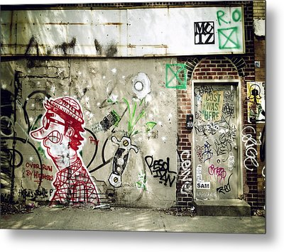 Overrun By Hipsters Metal Print by Natasha Marco