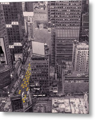 Overwhelm Me New York  Metal Print