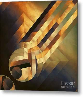 Overwhelming Dimensionality Metal Print by Lonnie Christopher