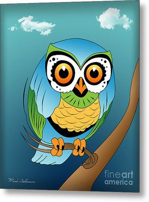 Owl 2 Metal Print