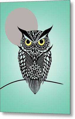 Owl 5 Metal Print by Mark Ashkenazi