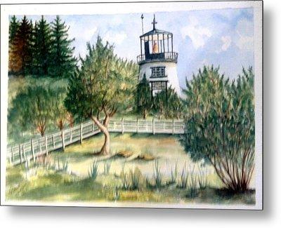 Owls Head Maine Lighthouse Metal Print