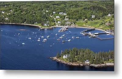 Owls Head, Maine Me Metal Print by Dave Cleaveland