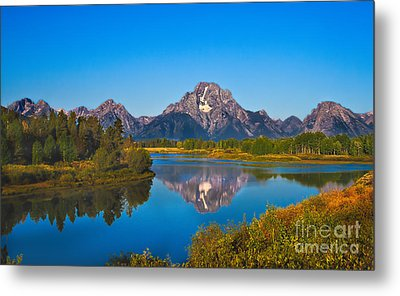 Oxbow Bend II Metal Print by Robert Bales