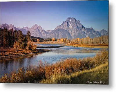 Metal Print featuring the photograph Oxbow Bend by Janis Knight