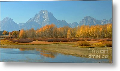 Oxbow Bend Metal Print by Kathleen Struckle