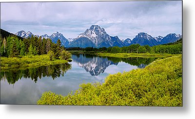 Oxbow Summer Metal Print by Chad Dutson