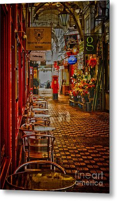 Oxford Covered Market Hdr Metal Print