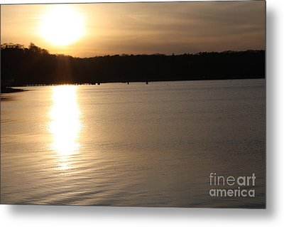 Oyster Bay Sunset Metal Print by John Telfer