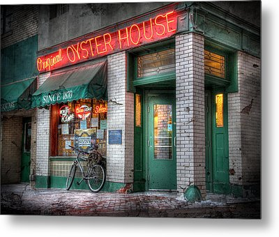 Oyster House Metal Print by Lori Deiter