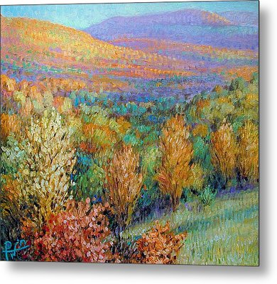 Ozark Fall Metal Print by Henry David Potwin