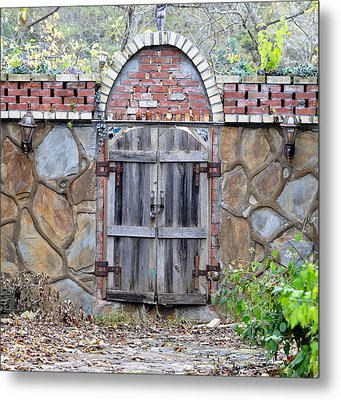 Ozark Gate Metal Print by Jan Amiss Photography