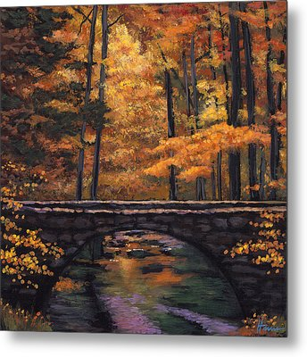Ozark Stream Metal Print by Johnathan Harris