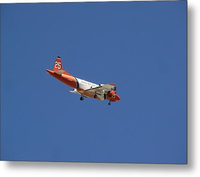 P-3 Orion Hero's Return Day Metal Print