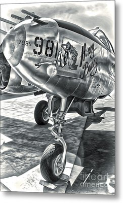 P-38 Airplane Metal Print by Gregory Dyer