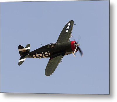 P-47 Thunderbolt Metal Print by John Daly