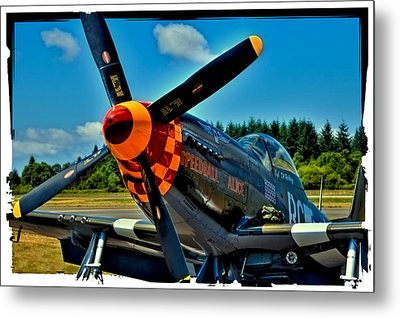 P-51 Mustang Metal Print by David Patterson