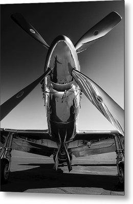 P-51 Mustang Metal Print by John Hamlon