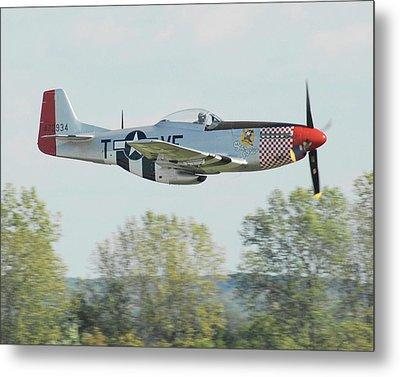 P-51d Mustang Shangrila Metal Print by Alan Toepfer