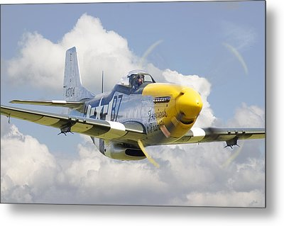 P51 Ferocious Frankie Metal Print by Pat Speirs