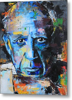 Pablo Picasso Metal Print by Richard Day