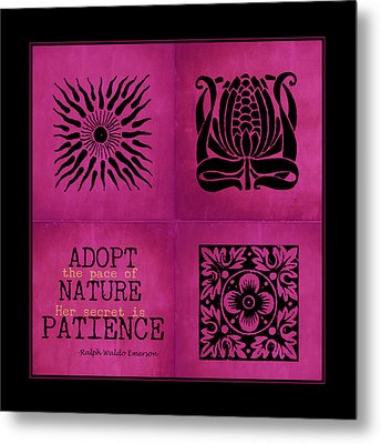 Pace Of Nature Metal Print by Bonnie Bruno