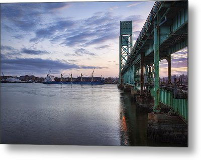Pacific Basin Metal Print by Eric Gendron