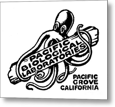 Pacific Biological Laboratories Of Pacific Grove Circa 1930 Metal Print