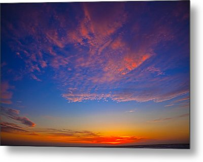Pacific Coast Sunset Metal Print by Garry Gay