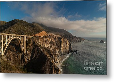 Pacific Coastal Highway Metal Print by Mike Reid