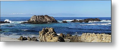 Pacific Ocean Panoramic Metal Print