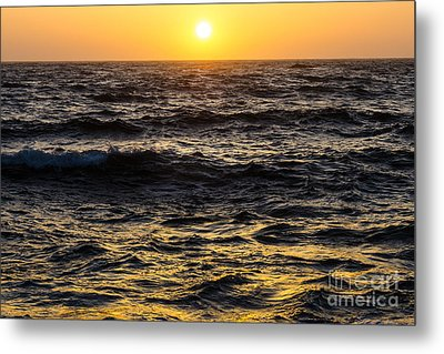 Pacific Reflection Metal Print by CML Brown