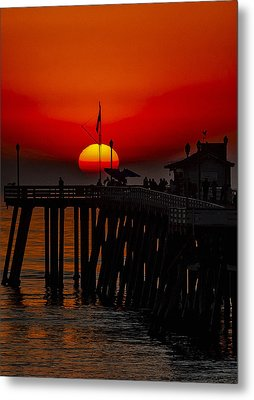Pacific Sunset Number 1 Metal Print